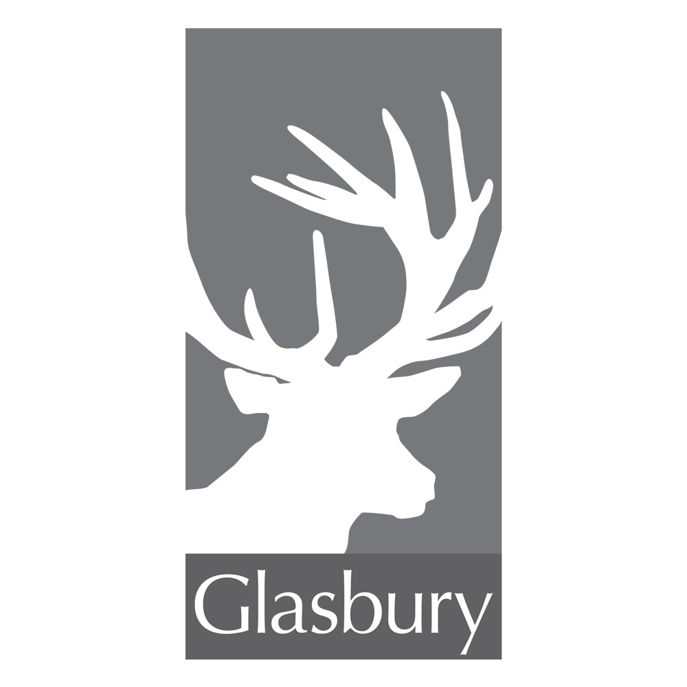 Glasbury Products Logo Design