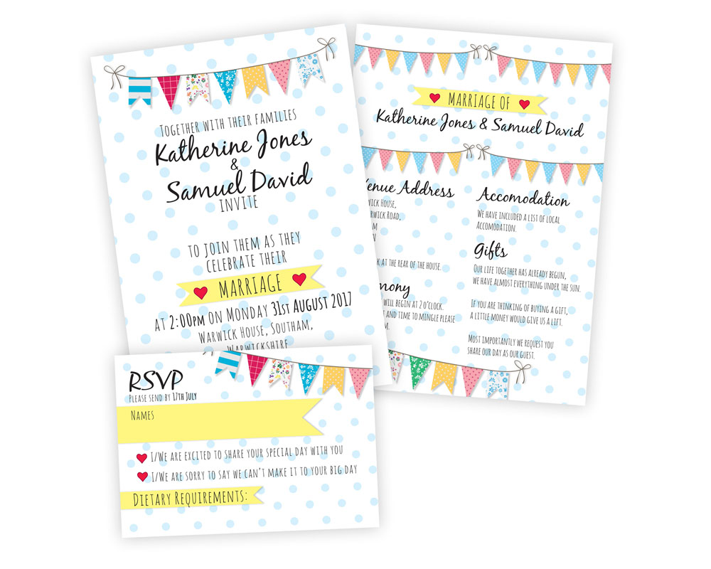 Wedding Invites Print Design