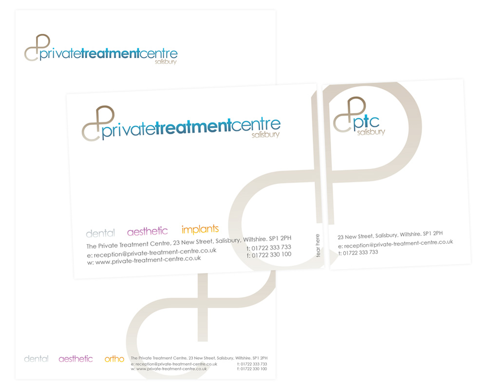 Private Treatment Center Print Design