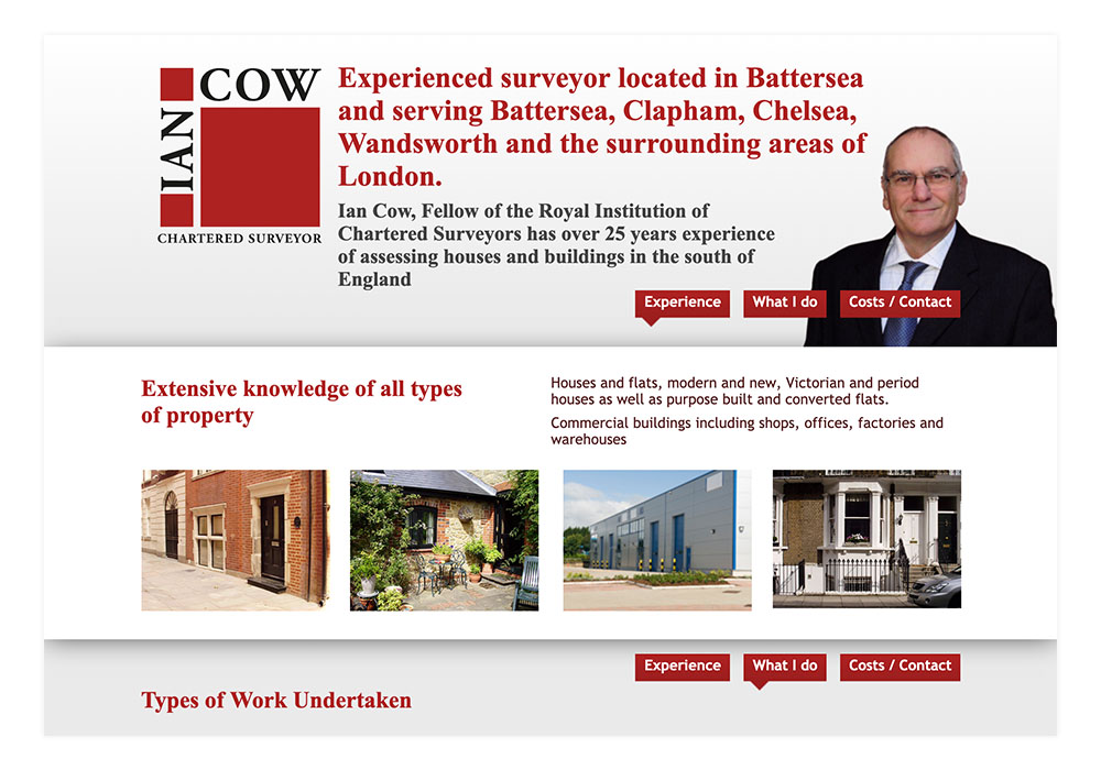 Ian Cow Website